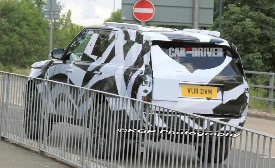 2013 Land Rover Range Rover (spy photo) - Slide 8