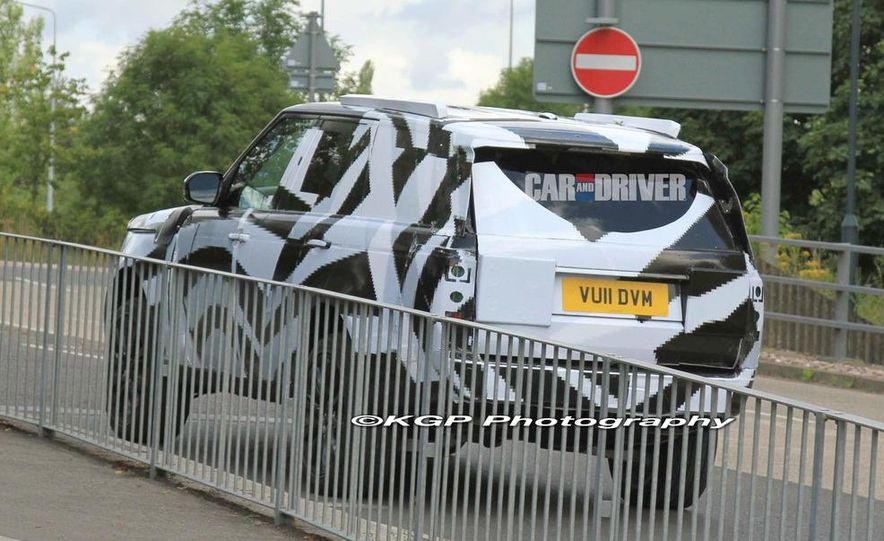 2013 Land Rover Range Rover (spy photo) - Slide 9