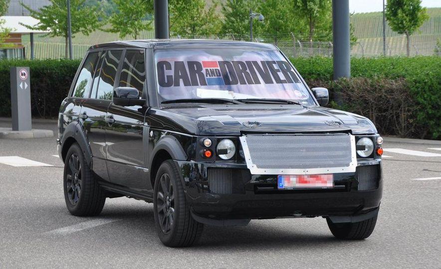 2013 Land Rover Range Rover (spy photo) - Slide 10