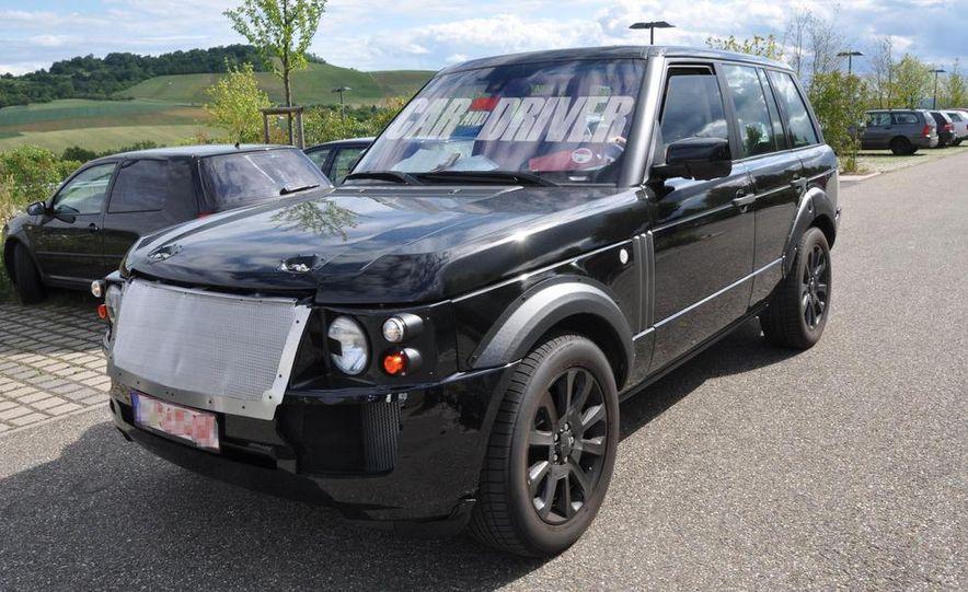 2013 Land Rover Range Rover (spy photo) - Slide 12