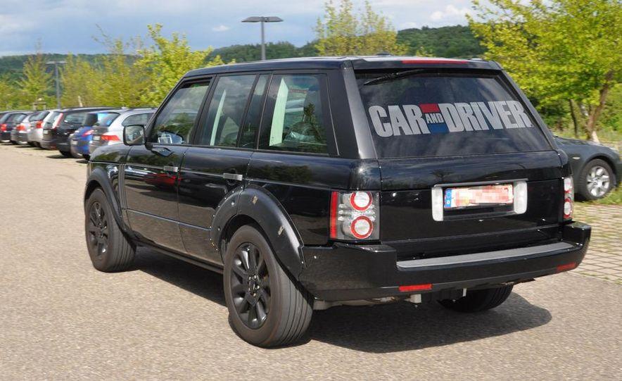 2013 Land Rover Range Rover (spy photo) - Slide 13