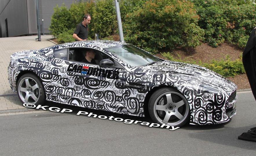 2013 Aston Martin DB9 (spy photo) - Slide 10