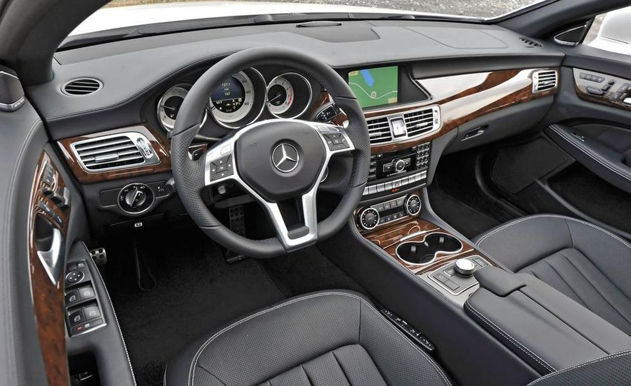 2012 Mercedes-Benz CLS550 - Slide 18