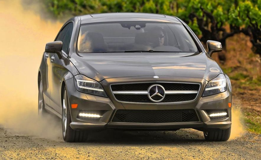 2012 Mercedes-Benz CLS550 - Slide 3