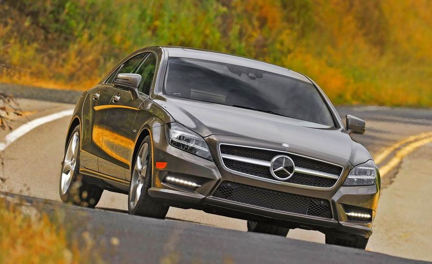2012 Mercedes-Benz CLS550 - Slide 4