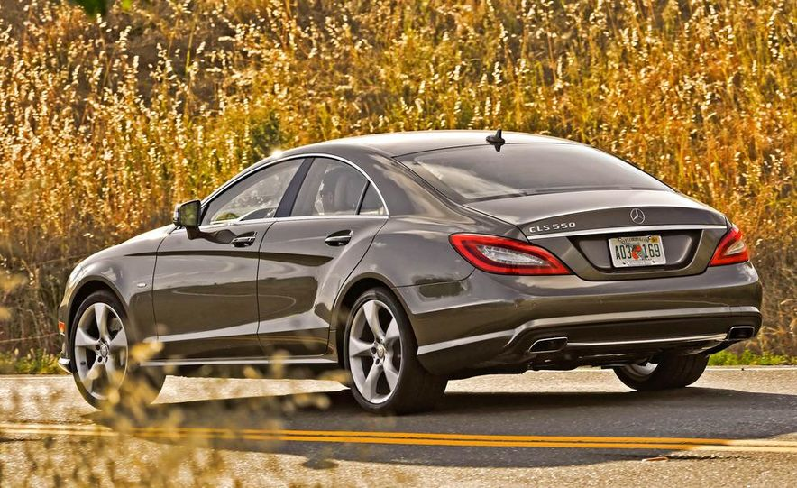 2012 Mercedes-Benz CLS550 - Slide 6