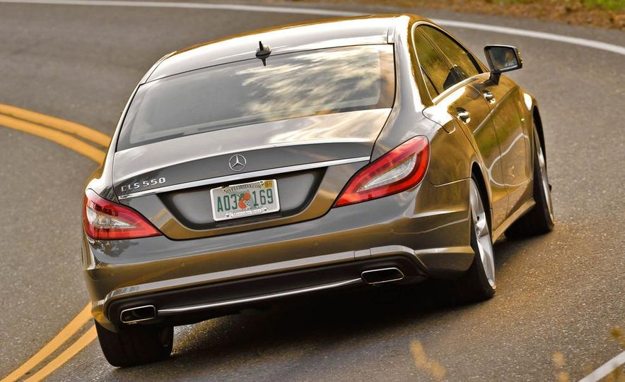 2012 Mercedes-Benz CLS550 - Slide 7