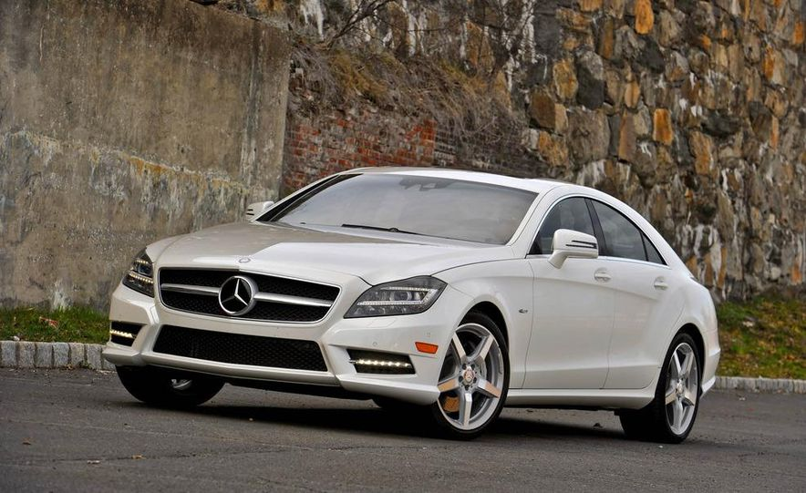 2012 Mercedes-Benz CLS550 - Slide 8