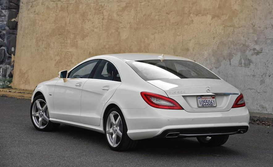 2012 Mercedes-Benz CLS550 - Slide 9
