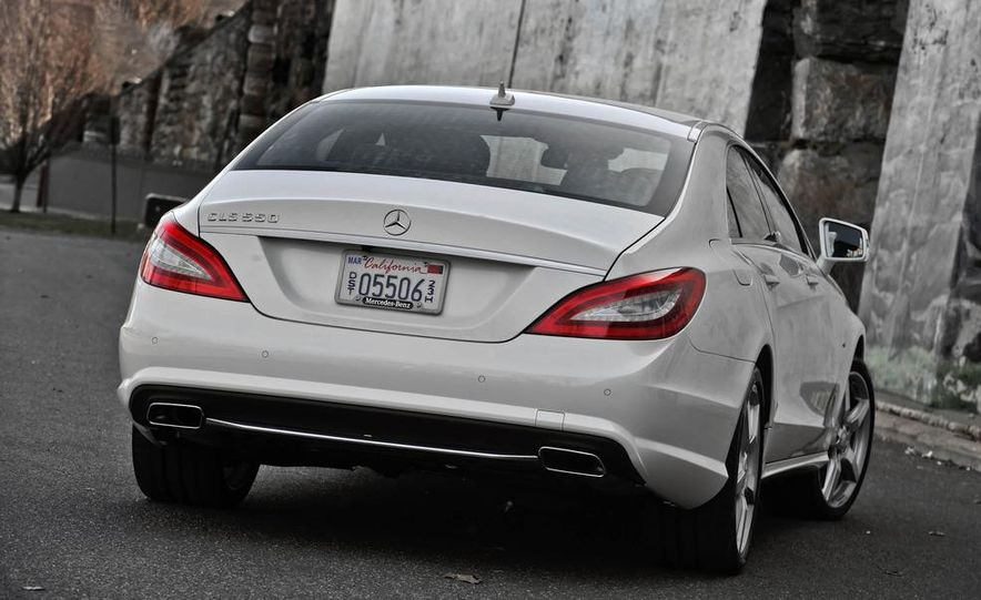 2012 Mercedes-Benz CLS550 - Slide 10