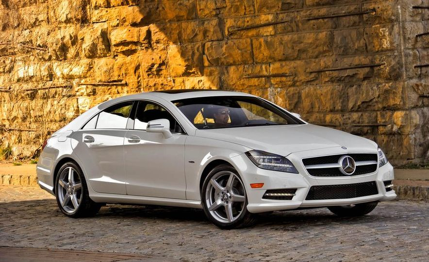 2012 Mercedes-Benz CLS550 - Slide 11
