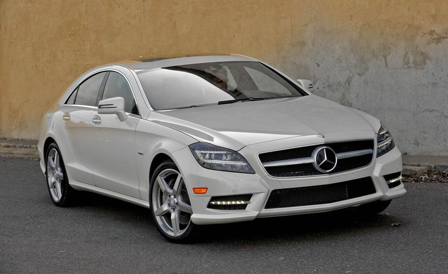 2012 Mercedes-Benz CLS550 - Slide 12
