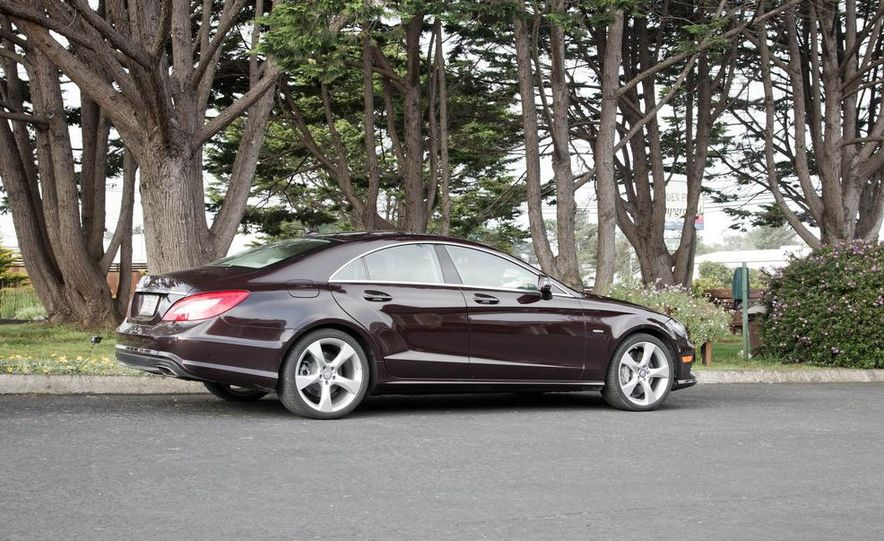 2012 Mercedes-Benz CLS550 - Slide 2