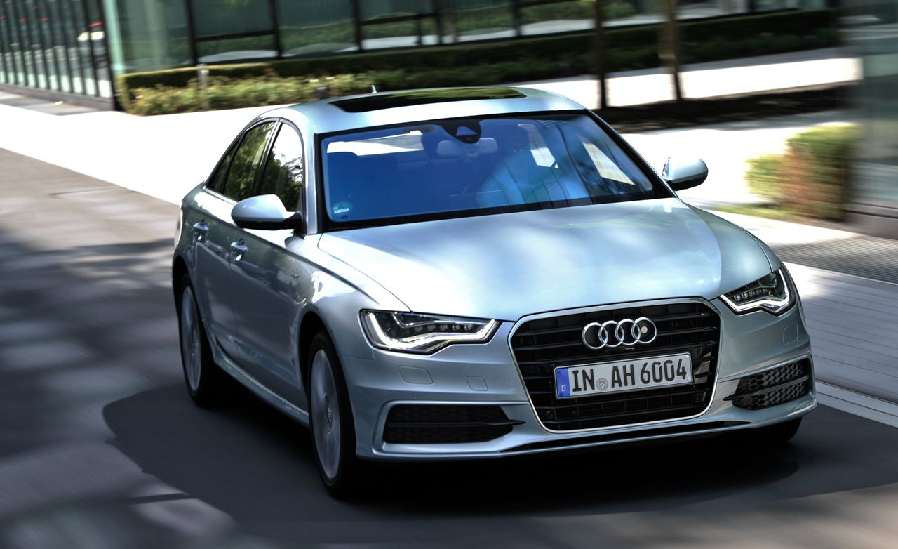 2012 audi a6 hybrid first drive review car and driver. Black Bedroom Furniture Sets. Home Design Ideas