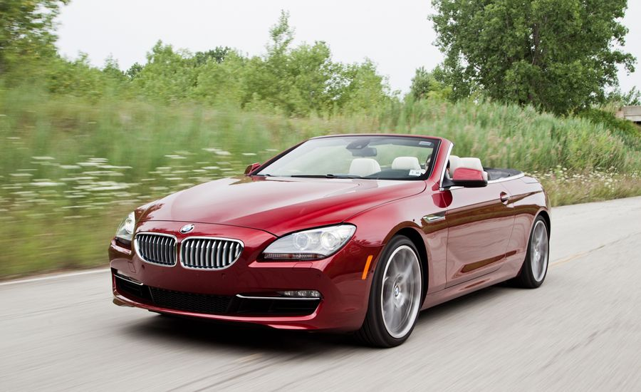 BMW I Convertible Road Test Review Car And Driver - 2012 bmw 650i price