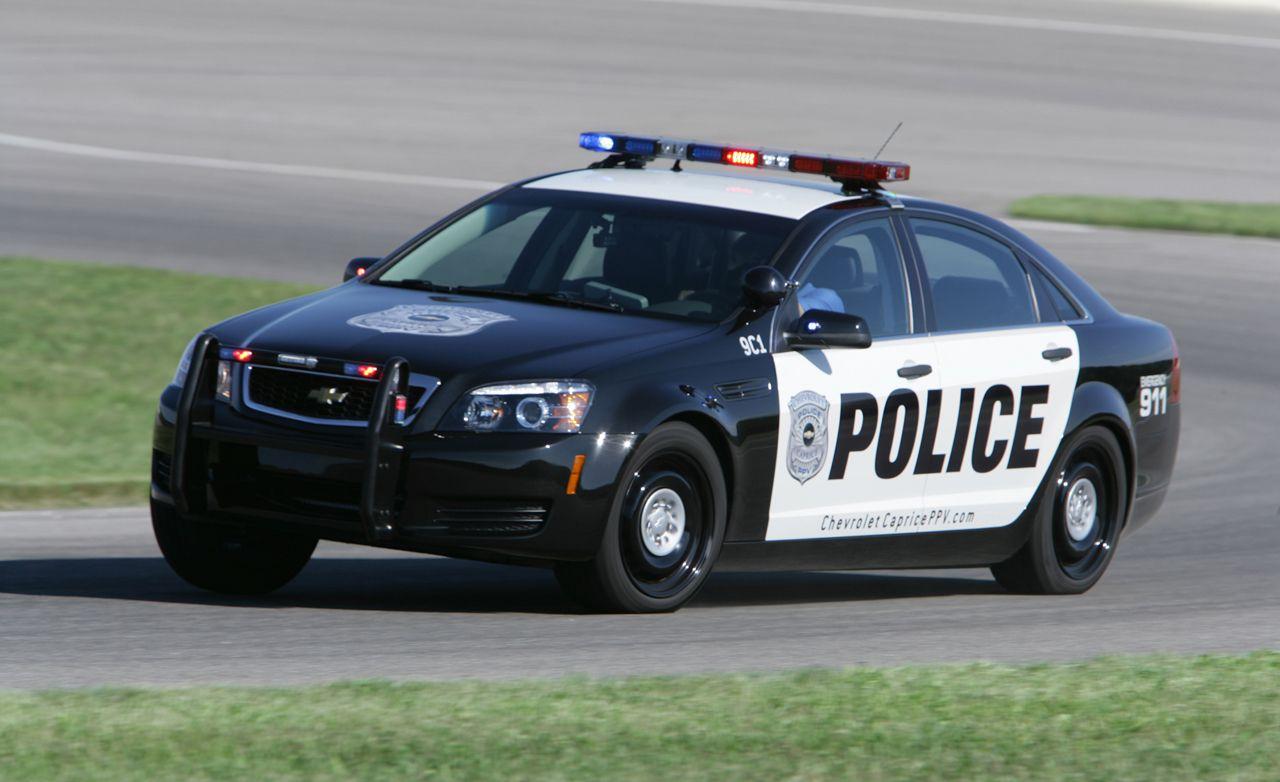 Chevy caprice police specs