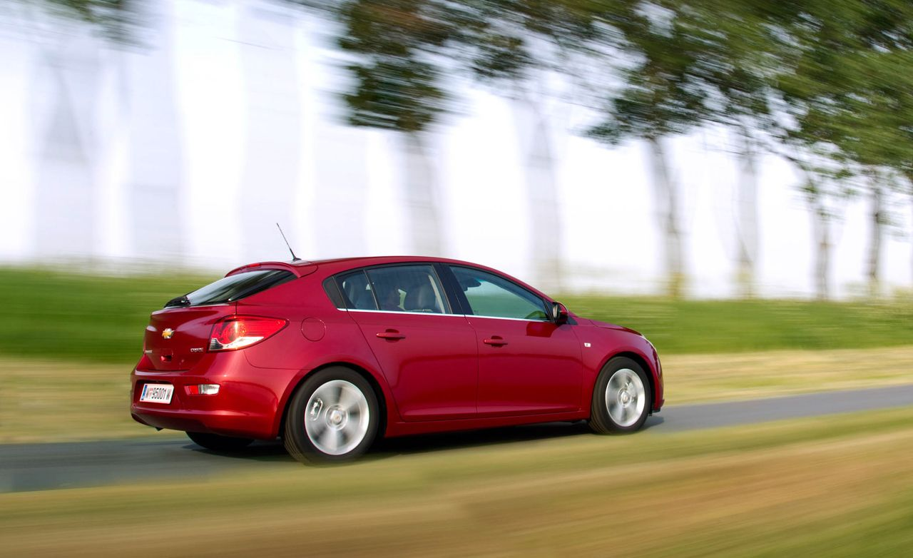 All Chevy 2012 chevy cars : 2012 Chevrolet Cruze Hatchback First Drive – Review &ndash ...