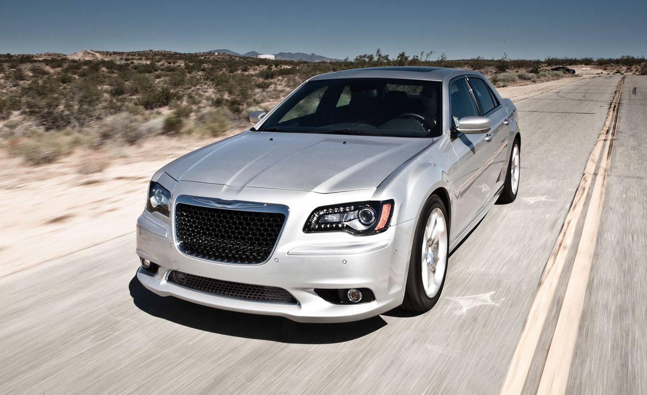 2012 Chrysler 300 SRT8  2012 Dodge Charger SRT8 First Drive