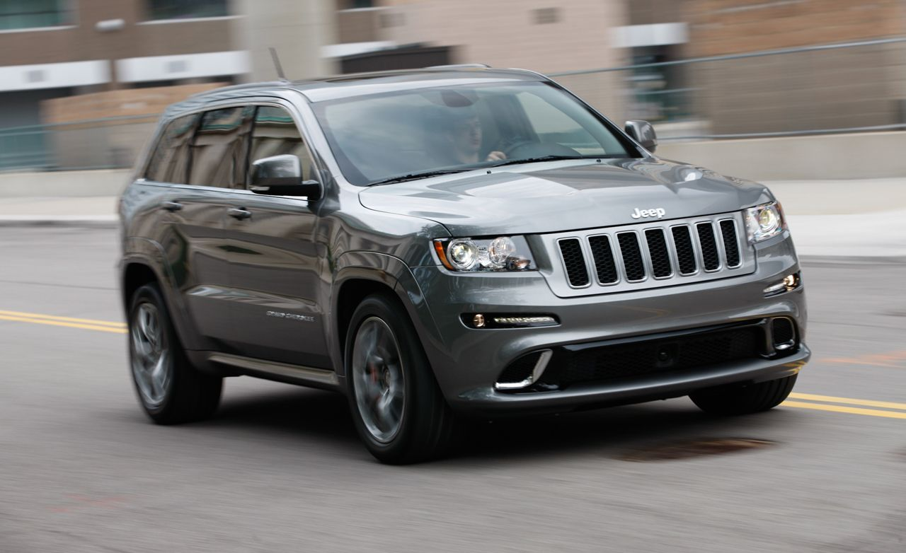 2012 Jeep Grand Cherokee Srt8 Test Reviews Car And Driver