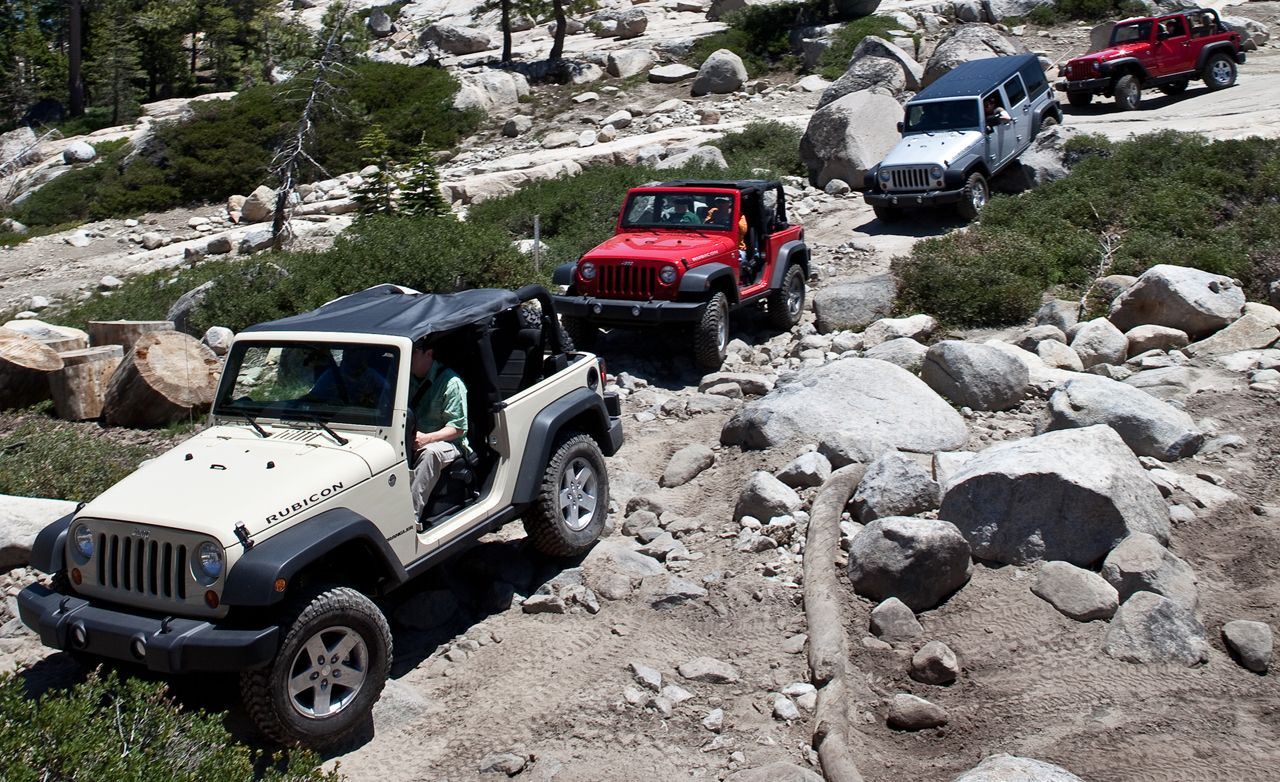 2012 Jeep Wrangler  Review  Car and Driver