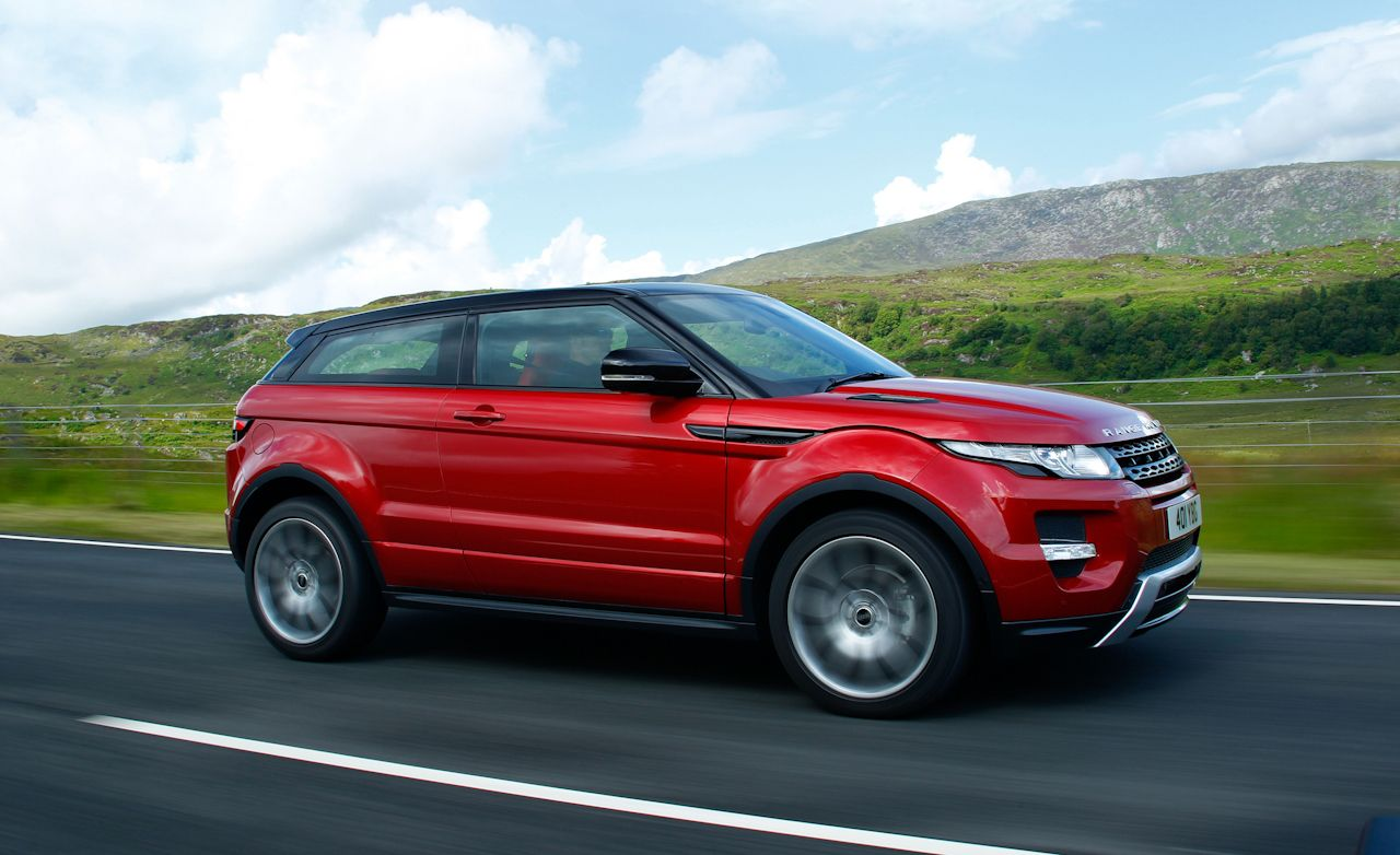 2012 Land Rover Range Rover Evoque First Drive