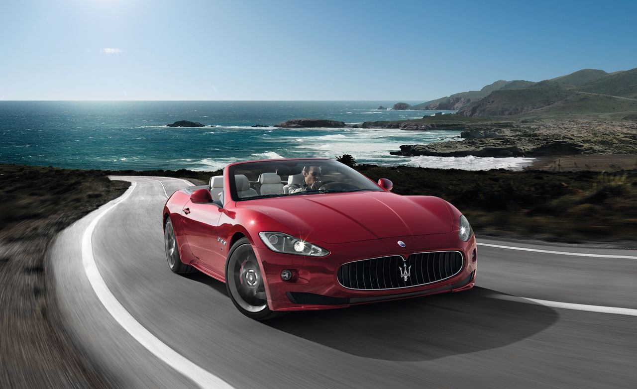 2012 Maserati GranTurismo Convertible Sport