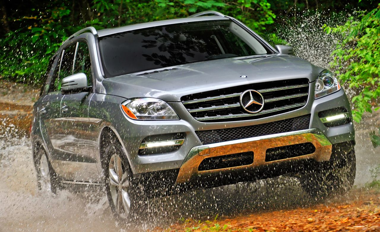 2012 mercedes benz m class ml350 4matic ml350 bluetec review car and driver