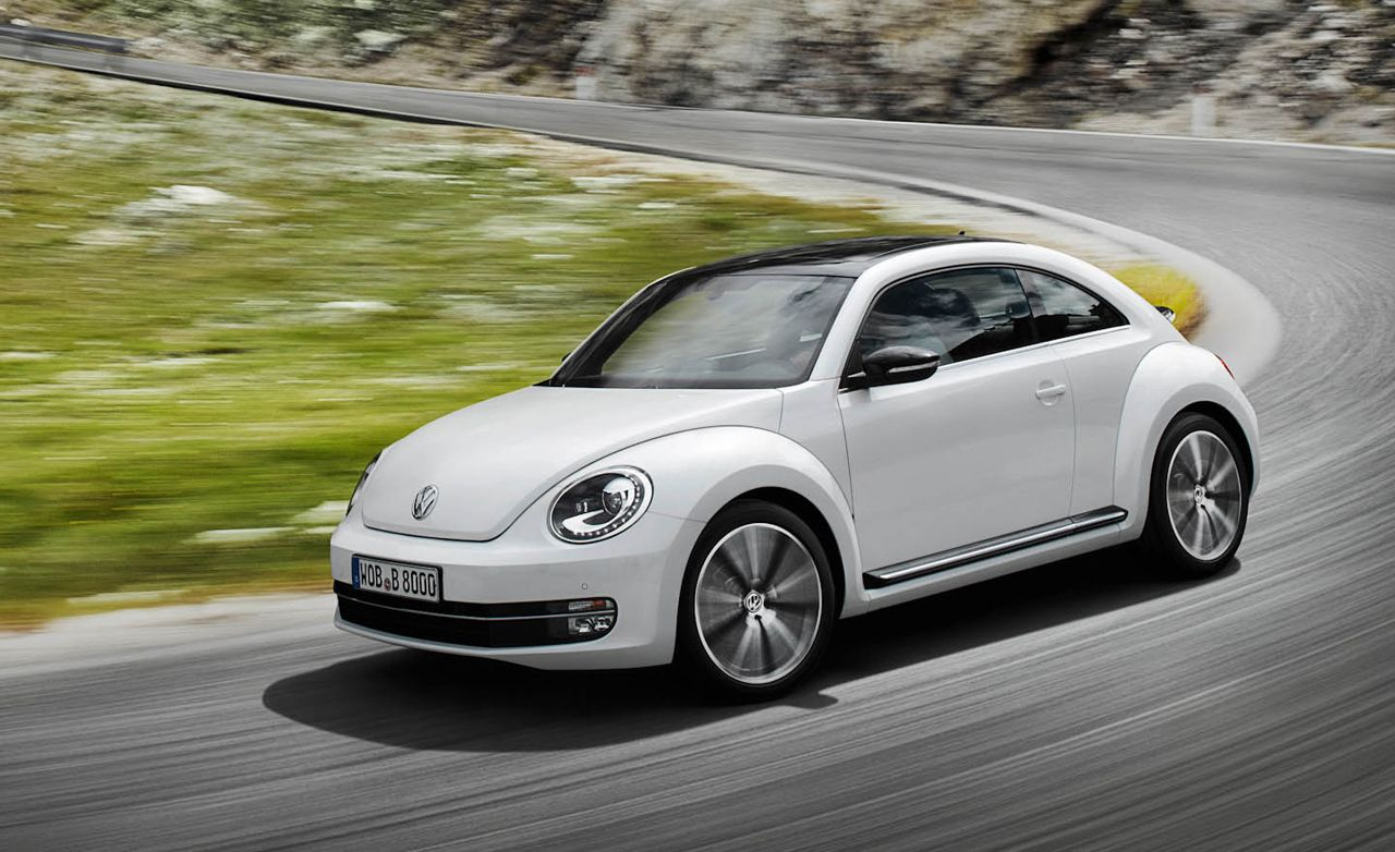 2012 volkswagen beetle drive review car and driver. Black Bedroom Furniture Sets. Home Design Ideas