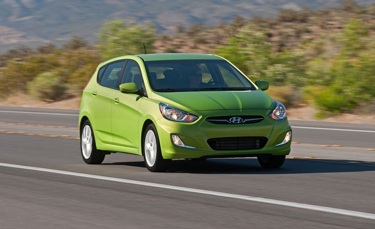 2012 Hyundai Accent Hatchback and Sedan