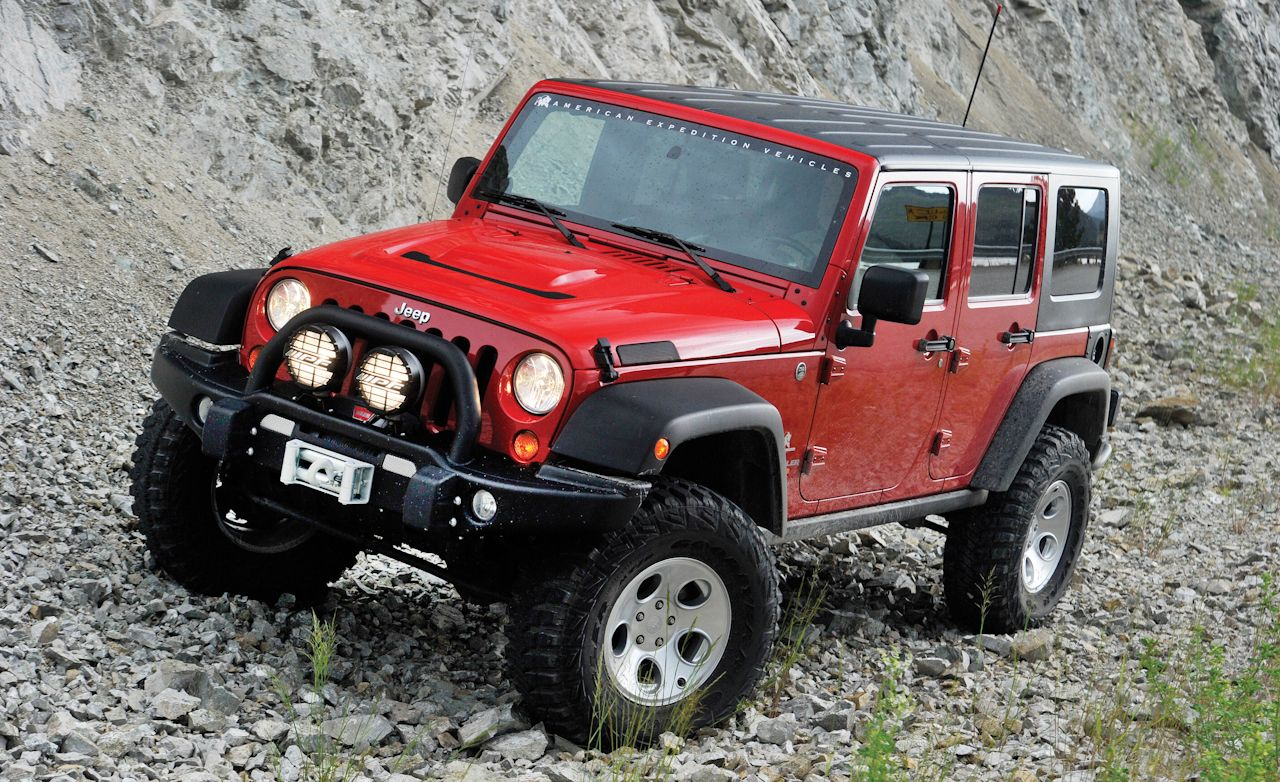 Jeep Wrangler AEV Hemi Conversion