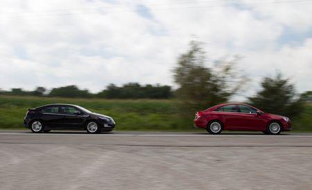 2011 Chevrolet Volt vs. Chevrolet Cruze Eco