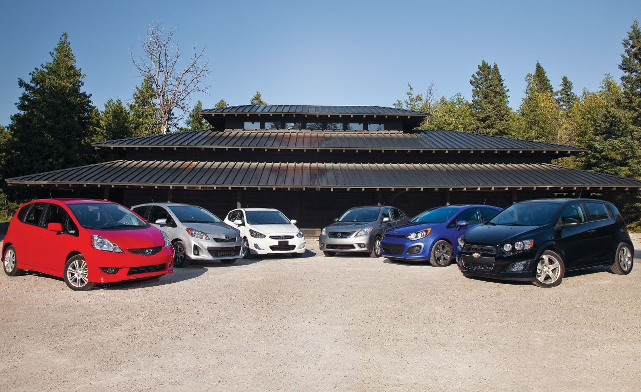 2012 Chevrolet Sonic LTZ Turbo Vs. 2011 Honda Fit Sport, 2012 Hyundai  Accent SE