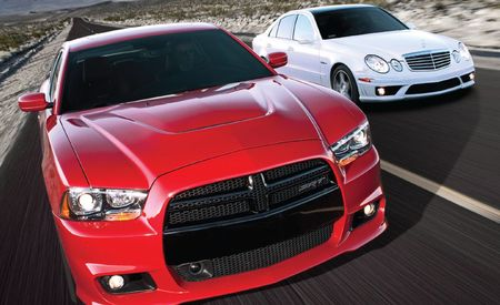 2012 Dodge Charger SRT8 vs. 2008 Mercedes-Benz E63 AMG