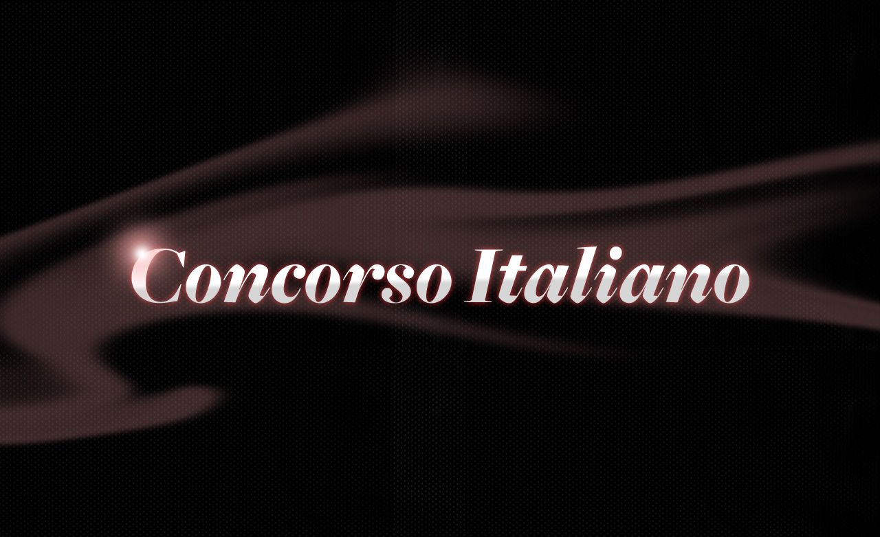 2011 Concorso Italiano