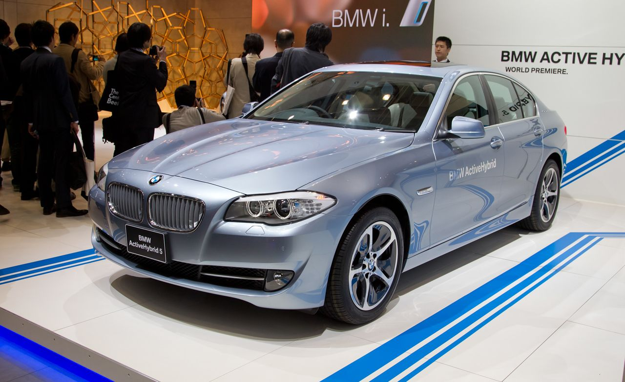 2012 BMW ActiveHybrid 5 Official Photos And Info