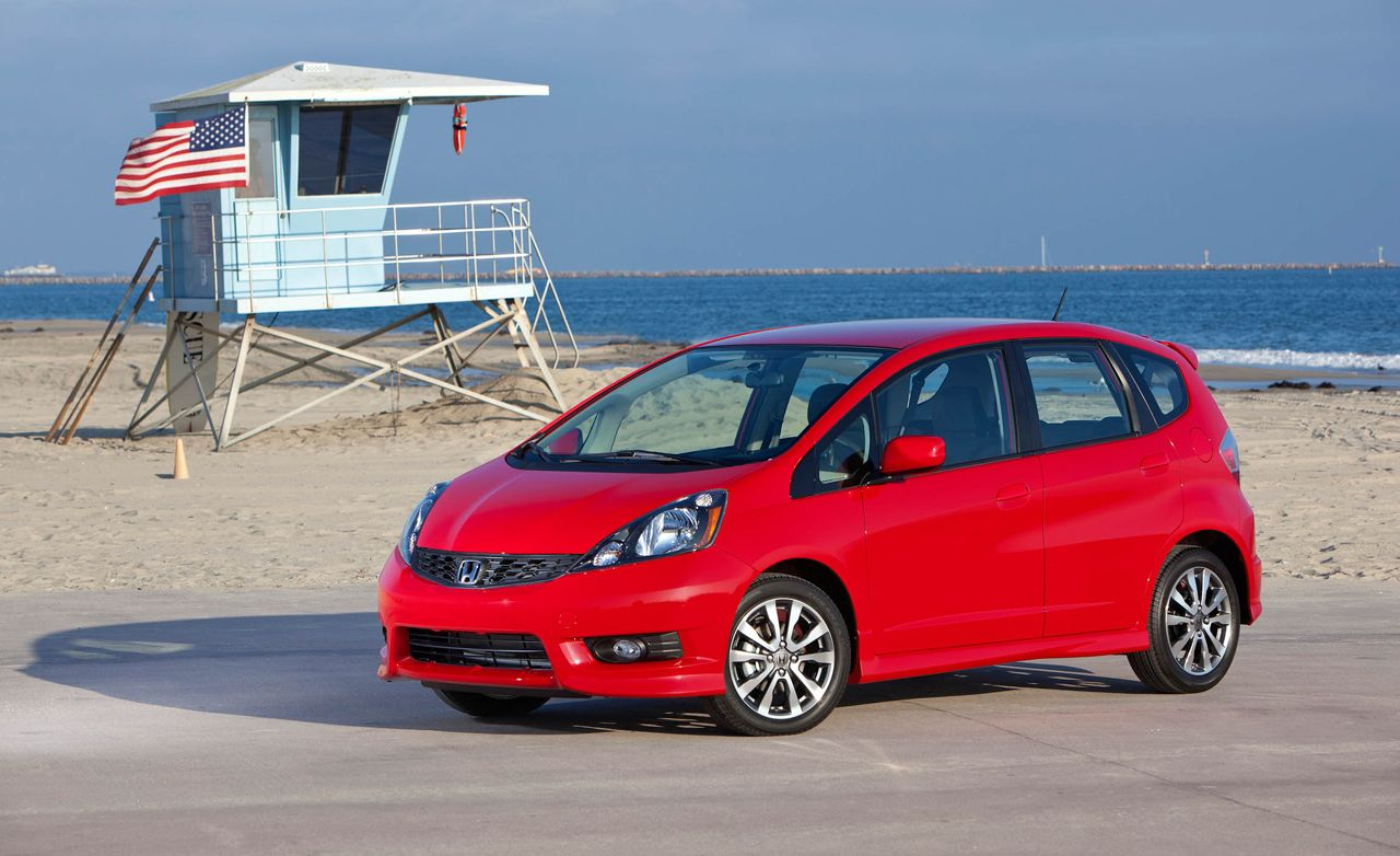 2008 10best cars 10best cars page 2 car and driver - 2012 Honda Fit