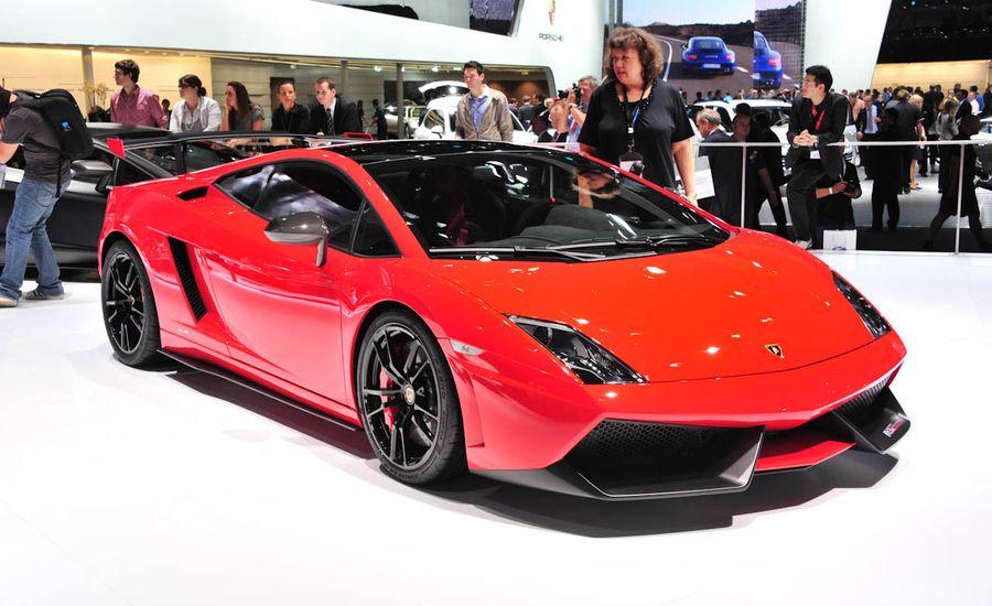2012 Lamborghini Gallardo LP570-4 Super Trofeo Stradale