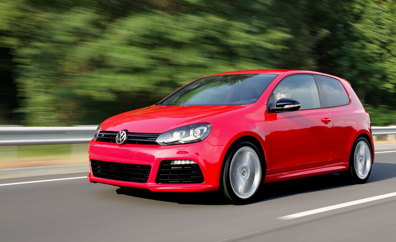 2010 Volkswagen Golf R Review Car And Driver
