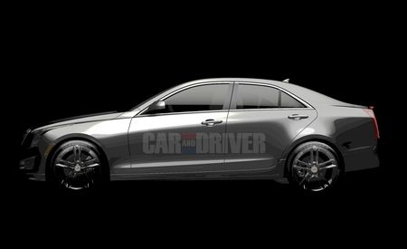 2013 Cadillac ATS Sedan Teaser Photo Released