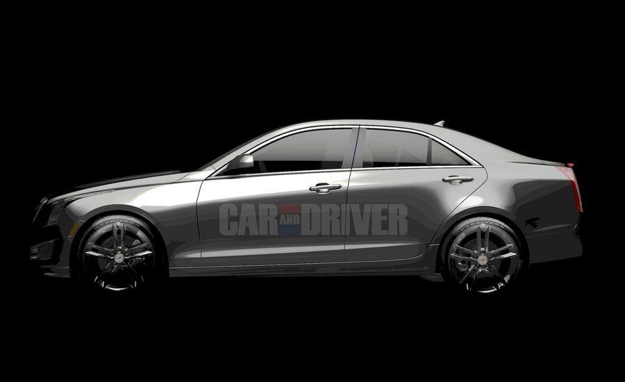 2013 Cadillac ATS Sedan Teaser Photo Released