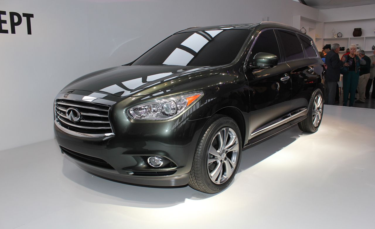 Infiniti jx reviews infiniti jx price photos and specs car 2013 infiniti jx crossover concept vanachro Image collections