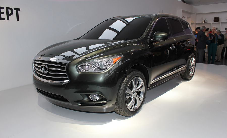 2013 Infiniti JX Crossover Concept