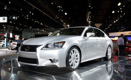2013 Lexus GS350 Official Photos and Info
