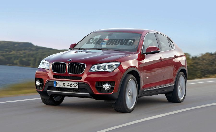 2014 BMW X4 Rendered