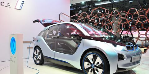 Bmw I3 Electric City Car Concept 8211 News 8211 Car And Driver