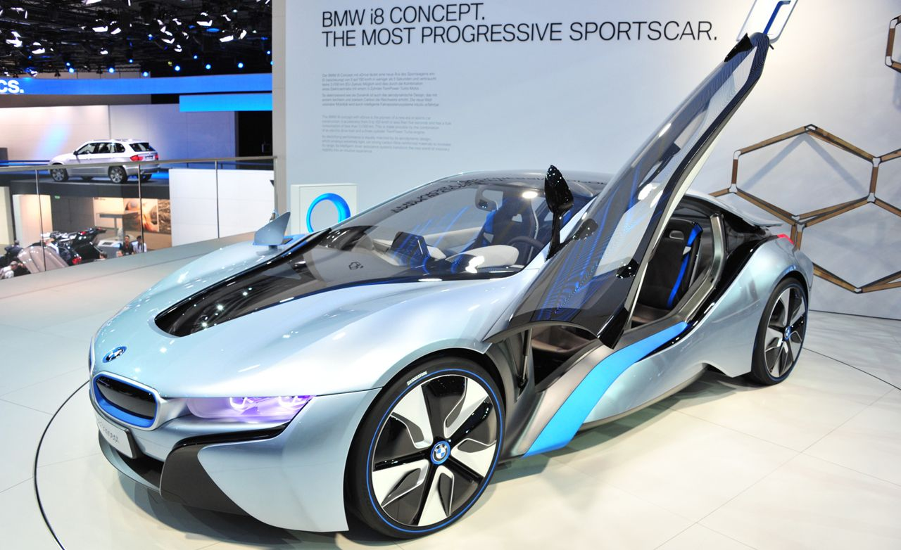 Bmw I8 Concept Official Photos And Info News Car And