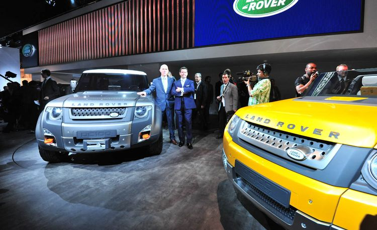 Land Rover DC100 Concept Official Photos and Info