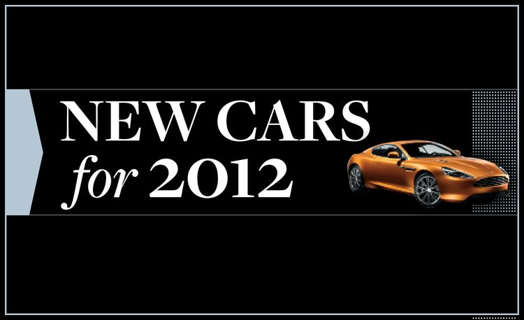 New Cars for 2012