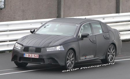 2012 Lexus GS Spy Photos