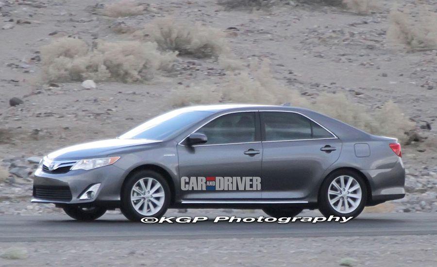 2012 Toyota Camry / Camry Hybrid Spy Photos